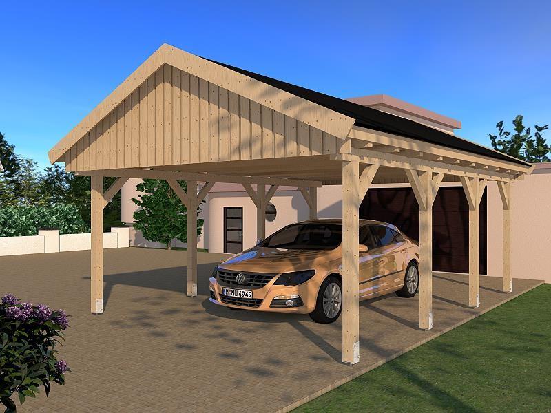 Prikker Carport Satteldach KVH 500 x 600cm