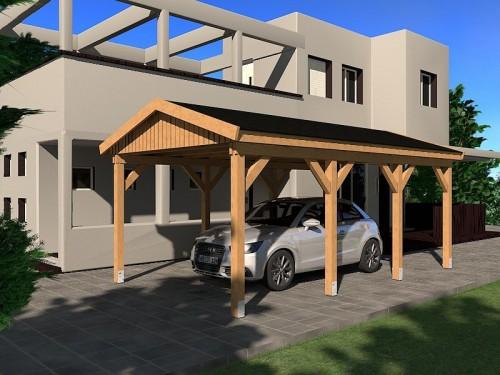 Prikker Carport Satteldach KDI 350 x 600cm