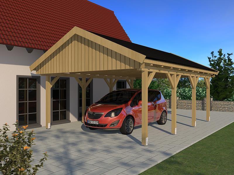 Prikker Carport Satteldach KDI 500 x 600cm
