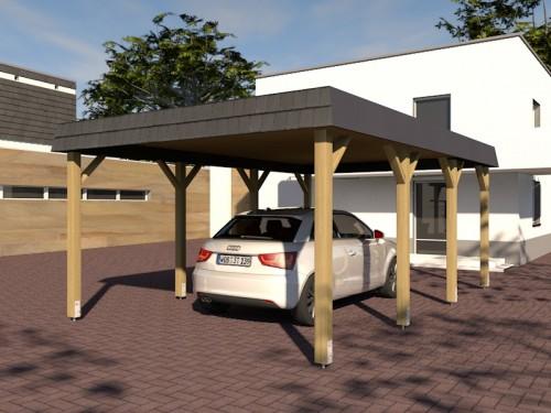 Prikker Carport Walmblende KDI 400 x 600cm