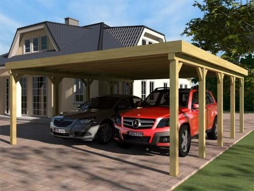Prikker Carport Flachdach KDI 600x730cm