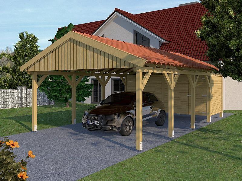 Prikker Carport Satteldach KDI 500 x 800cm