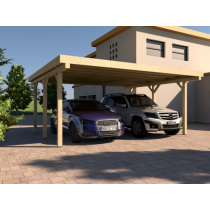 Prikker Carport Flachdach KVH 500 x 500cm