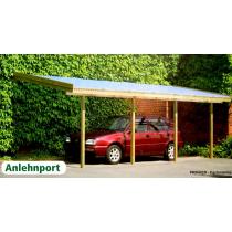Prikker Carport Anlehn KDI 350 x 600cm