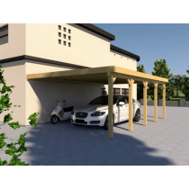 Prikker Carport Anlehn KDI 500 x 700cm