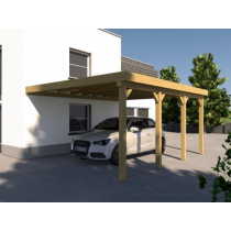 Prikker Carport Anlehn KDI 400 x 600cm