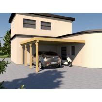 Prikker Carport Anlehn KDI 500 x 600cm