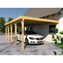 Prikker Carport Anlehn KDI 400 x 700cm