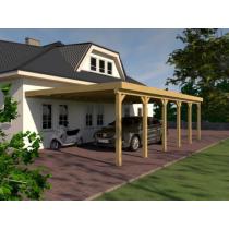 Prikker Carport Anlehn KDI 500 x 900cm