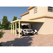 Prikker Carport Anlehn BSH 500 x 600cm