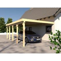 Prikker Carport Anlehn BSH 400 x 700cm