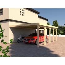 Prikker Carport Anlehn BSH 500 x 800cm