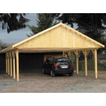 Prikker Carport Satteldach BSH 600 x 700cm