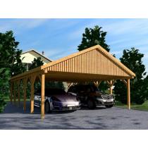 Prikker Carport Satteldach BSH 600 x 900cm
