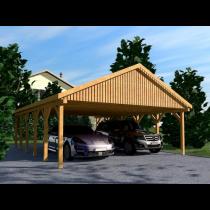 Prikker Carport Satteldach KVH 700 x 900cm