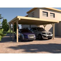 Prikker Carport Flachdach BSH 500 x 500cm