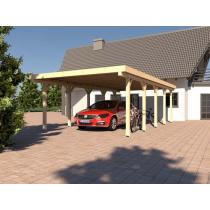 Prikker Carport Flachdach BSH 400 x 700cm
