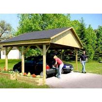 Prikker Carport Satteldach KDI 600 x 500cm