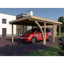 Prikker Carport Flachdach BSH 400 x 600cm
