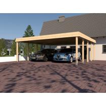 Prikker Carport Walmblende BSH 700 x 700cm
