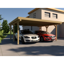 Prikker Carport Flachdach KDI 500 x 500cm