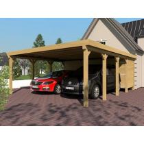 Prikker Carport Flachdach KDI 600 x 800cm