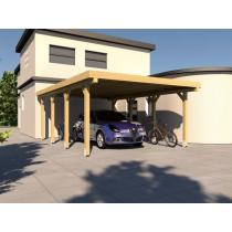 Prikker Carport Flachdach KDI 400 x 600cm