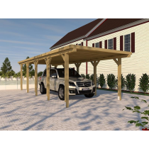 Prikker Carport Flachdach KDI 300 x 800cm