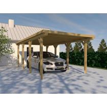 Prikker Carport Flachdach KDI 300 x 600cm